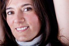 Schönes Portrait der modernen Frau Stockfotografie