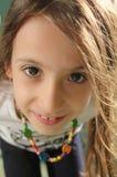 Schönes Portrait des kleinen Mädchens Stockfotos