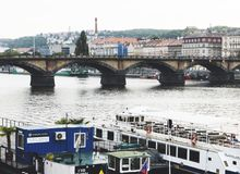 Schönes Prag, 2017 stockbild