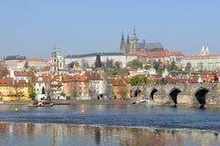 Schönes Prag Stockfotografie