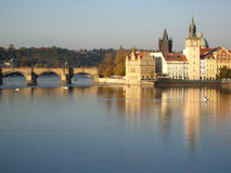 Schönes Prag Lizenzfreies Stockfoto