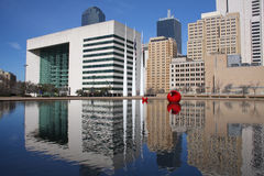Schönes Rathaus in Dallas lizenzfreie stockbilder