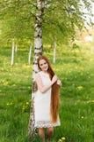 Schönes Redheadmädchen Stockbilder