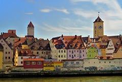 Schönes Regensburg Stockbild