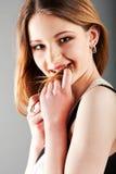 Schönes reizend Jugendlichmädchen Stockfotos