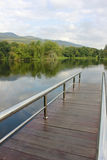 Schönes Reservoir stockfotografie