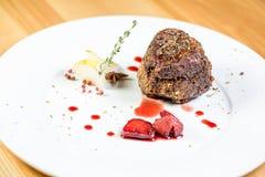 Schönes Restaurantlebensmittel Stockfoto