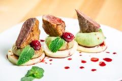 Schönes Restaurantlebensmittel Stockfotografie