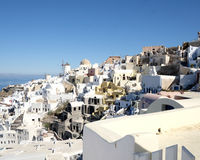 Schönes Santorini Lizenzfreie Stockfotografie