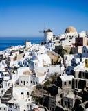 Schönes Santorini Stockfoto