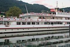Schönes Schiff bei Bregenz, Österreich Lizenzfreie Stockfotografie