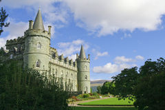 Schönes Schloss Stockfotos