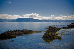Schönes Schottland von Skye Lizenzfreies Stockfoto