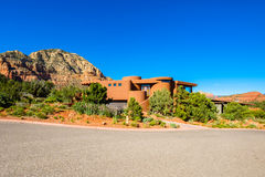 Schönes Sedona-Haus Lizenzfreies Stockfoto