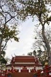 Schönes siamesisches Artgebäude. Stockfoto
