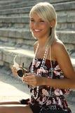 Schönes Sommermädchen Lizenzfreie Stockfotografie