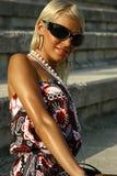 Schönes Sommermädchen Stockbilder