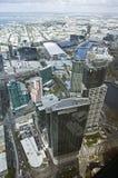 Schönes Stadtbild von Melbourne, Australien. Luftaufnahme von SK stockfotografie