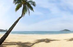 Schönes Strandpanorama Stockfotos