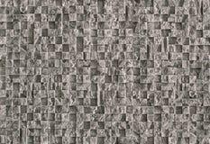 Schönes strukturiertes Steinmosaik für Reparatur des grauen Natursteins stockfotos