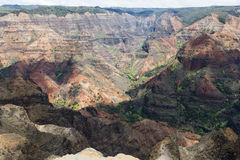 Schönes Teil Erde - waimea Schlucht, Kauai, Hawaii Lizenzfreies Stockfoto