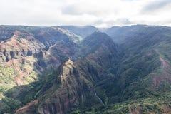 Schönes Teil Erde - waimea Schlucht, Kauai, Hawaii Lizenzfreie Stockfotografie