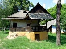 Schönes traditionelles Haus Stockbild
