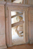 Schönes Treppenhaus am Kloster von Christus Stockfoto