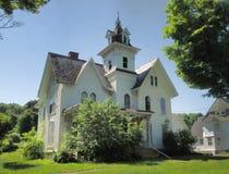 Schönes und gruseliges viktorianisches Haus Stockfotos