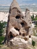 Schönes und mysteriöses Cappadocia Stockbild