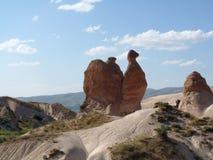 Schönes und mysteriöses Cappadocia Lizenzfreies Stockfoto