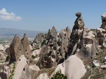 Schönes und mysteriöses Cappadocia, die Türkei Stockfotografie