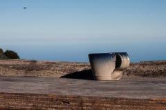 Schönes und unterschiedliches drog für kleines und allein Schale coffe an Galipans Stadt Venezuela lizenzfreies stockbild