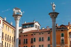 Schönes Vicenza Lizenzfreies Stockbild