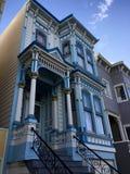 Schönes viktorianisches Haus in San Francisco, Kalifornien Stockfotografie