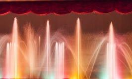 Schönes Wasser und Lichter Lizenzfreies Stockfoto
