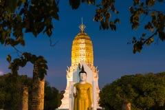 Schönes wat phra Si rattana mahathat, das als wat Yai gekennzeichnet ist, ist stockfotos