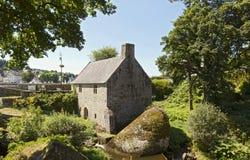 Schönes watermill in Huelgoat, Bretagne, Frankreich Stockfotografie