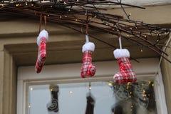 Schönes Weihnachten und neue Jahre Szene lizenzfreies stockfoto