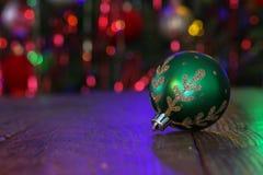 Schönes Weihnachten und neue Jahre Szene lizenzfreie stockbilder