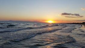 Schönes Wetter, schönes Meer:) Lizenzfreie Stockfotografie