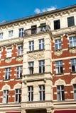 Schönes wieder hergestelltes Haus in Berlin lizenzfreie stockbilder