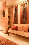 Schönes Wohnzimmer Stockfoto