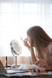 Schönheit Blogger Stockbild