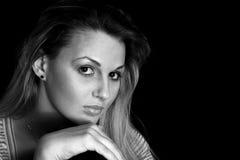 Schönheit blond Lizenzfreies Stockfoto