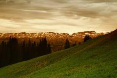 Schönheit der beartooth Berge stockfotografie