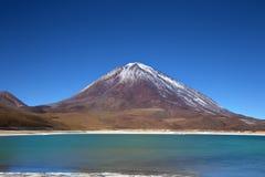 Schönheit der grünen Lagune Lizenzfreie Stockfotos
