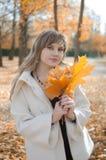 Schönheit in der Herbstlandschaft Lizenzfreies Stockbild