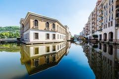 Schönheit der modernen Architektur Lizenzfreies Stockfoto