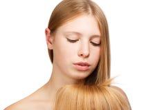 Schönheit des Haares Stockbilder